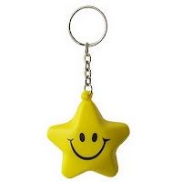 PU  Star keychain