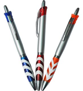 Plastic ball pens