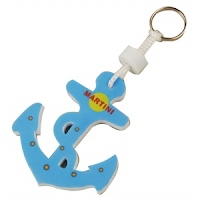 Foam floating anchor Keychain