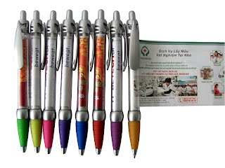 7 different colors flag pens