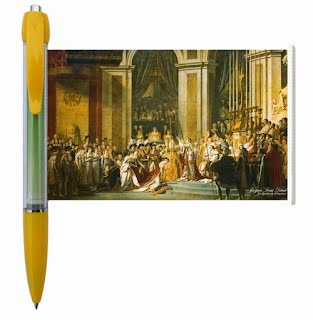 Art painting banner pen