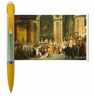 Art painting banner pen
