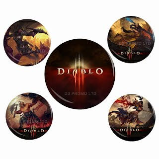 Diablo 3 button badges