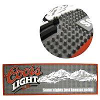 Coors light bar mat