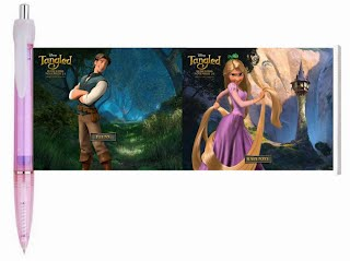 Tangled movie banner pen