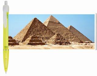 Pyramid banner pen