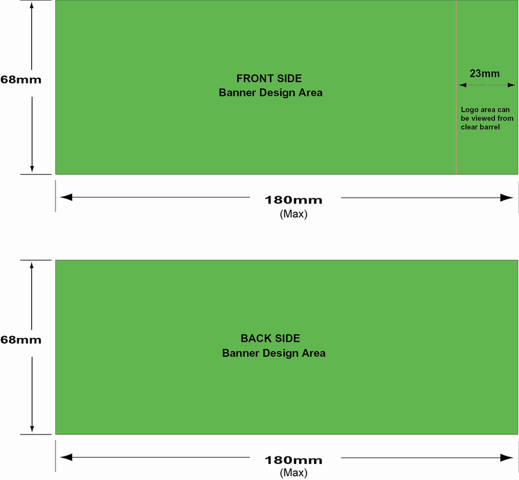 Design guideline of banner logo