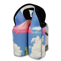 Collapsible wine bottle Koozies 2
