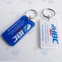 Acrylic keychain 2