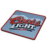 Coors Light coaster