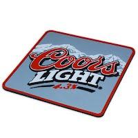 Coors Light coaster