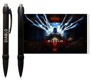 Diablo 3 banner pens