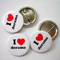 I love dorama button badge
