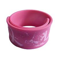 Silicone slap bracelet 2