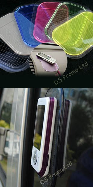 Anti-slip pad for mobile phone