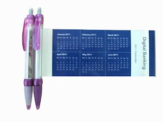 Calendar flag pen
