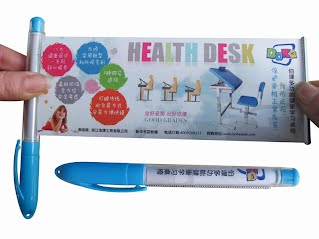 Advertising poster pen