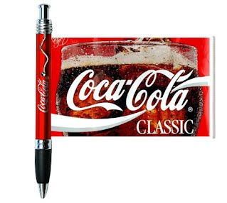 Coca Cola flyer pen