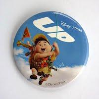 UP boy button badge