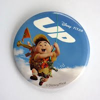 UP boy button badge