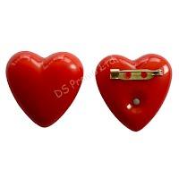 Heart shape light badge