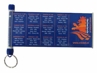 Retractable banner keyring