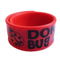 Silicone slap bracelet 1
