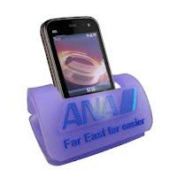 PVC mobile phone holder