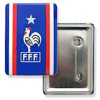 Rectangle button badge
