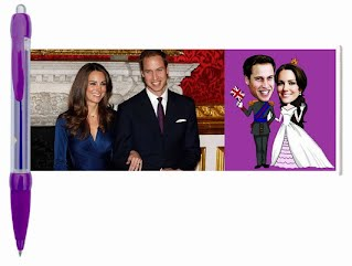 William and Kate banner pen