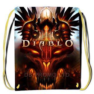 Diablo 3 drawstring bags