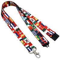 Sublimation Printed Lanyards 3