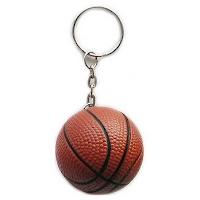 PU Basketball keychain