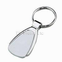 Zinc-alloy metal keychain