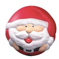 PU stress Santa Claus