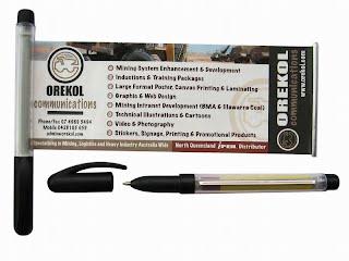 Custom poster pen