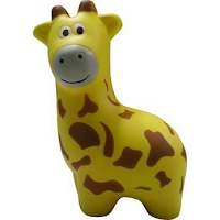 PU stress Giraffe