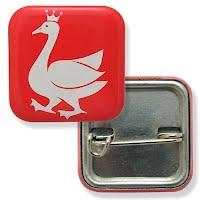 Square button badge