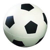 PU stress soccer