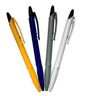 Promotional plastic pens