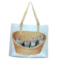 Sublimation printed shopping bag