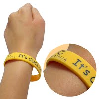 Printed silicone wristband 3