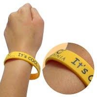 Printed silicone wristband 3
