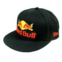 Red bull baseball cap