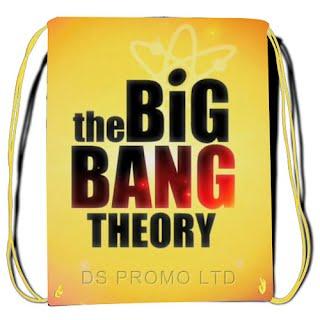 The Big Bang Theory Drawstring bag