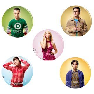 The Big Bang Theory Button Badge