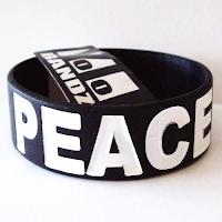 1 inch wide silicone wristband