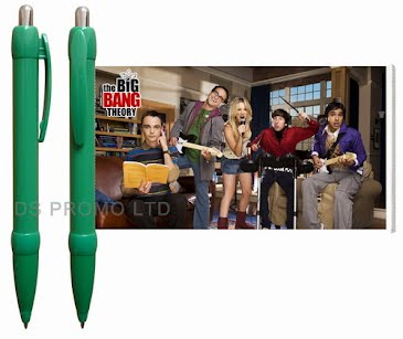 The Big Bang Theory Banner Pen
