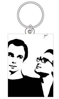 The Big Bang Theory Keychain