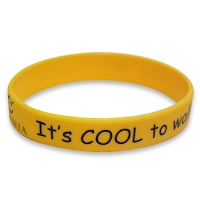 Printed silicone wristband 2